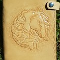 Leather note book covers