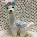 Llama: Crochet Toy, Girl Gift