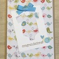 baby boy Card - free postage
