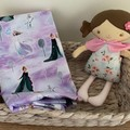 Dolls Nappy bag set, Frozen print, Anna & Elsa,