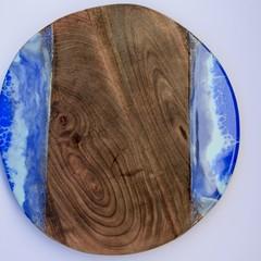 Acacia wood resin ocean board