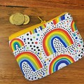 Order for Vanessa: Coin purse - Rainbow