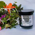 Scented Candle Gift Handmade 100% Soy Relieve The Stench Funny Homeware Candle