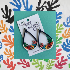 Inspired - Limited Edition Leaf Earrings