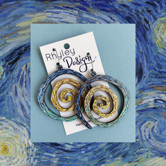 Inspired - Limited Edition Spiral Earrings