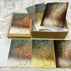 'Enlightenment' Set of 6 artwork cards in a gift box