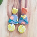 Fruit Party: Easy Squeezy Statement Studs