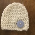 "Crocheted Hat for 18"" Doll"