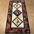 Australiana table runner - Magpie