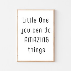 Nursery Printable 'Little One' Quote