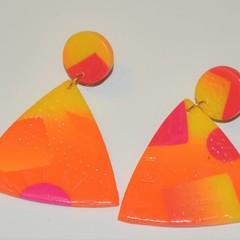 Spring carnival earrings