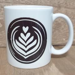 Printed Coffee Swirl Mug