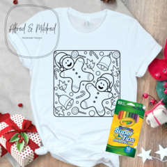 Kids Christmas Colour in T-Shirts