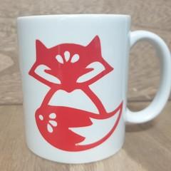 Printed Red Fox Mug
