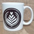 Printed Coffee Swirl Mug