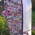 MAY GIBBS ROSE GUMNUT FRIENDS  MINKY PRAM BLANKET