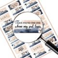 Love Quote Planner stickers Digital Download