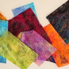 Silk fusion (or paper) for felting