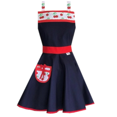 Cherry Belle Vintage Style Women's Apron FREE POST!