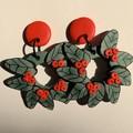 Australian Christmas Themed Earrings