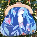 Blue Cockatoo handbag
