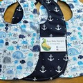 3 Piece Bib Sets. Click for more styles.