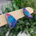 Ocean Sails (small) Stud earrings - Handcrafted earrings