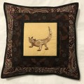 Australiana cushion cover - Thorny Devil