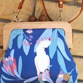 Blue Cockatoo handbag