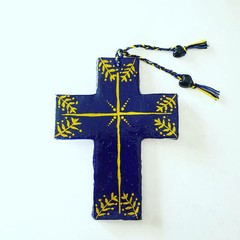 Wall Art - Olive Branch Cross