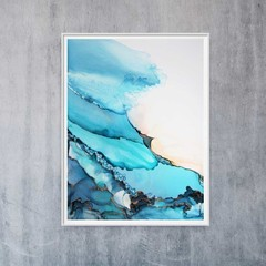 """The Shallows Collection Original Art - 9"""" x 12"""" painting, SAMPLE"""
