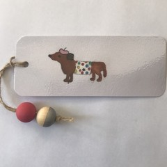 Bookmark Sausage Dog