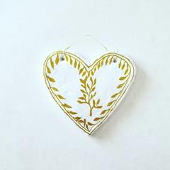 Wall Art - Olive Branch Heart