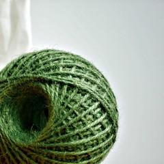 Chunky Dusky Green Twine {10m}   Chunky Twine   Jute Twine   Rustic Green Twine