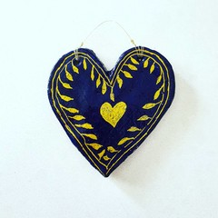 Wall Art - Olive Branch Love Heart