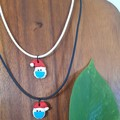 2020 Santa Christmas necklace