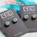 Kids Earrings - resin + ink ark