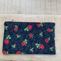 Rose  Themed Zipper Pouch