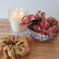 Handmade Scrunchies - Mustard Crinkle