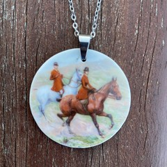 Horse Riders Pendant