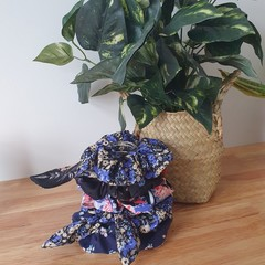 Handmade Scrunchies - Floral Edit! Recycled materials, Various Colours