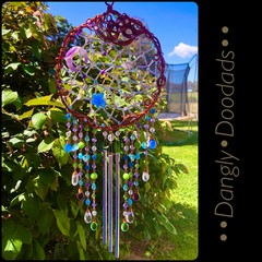 Stars & Moon Windchime