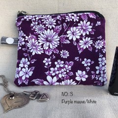 Small essentials Vintage fabric pouches