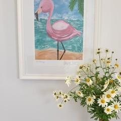 PRINT - 'Flo Flamingo'