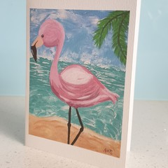 CARD - 'Flo Flamingo'