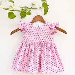 Ethically Made Toddler Party Dress Size 1