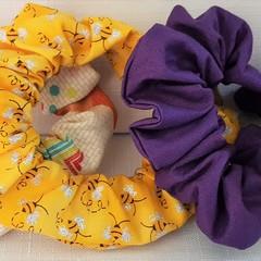 Handmade Scrunchies, Scrunchies, Hair Accessories, Chic, Cotton Scrunchies
