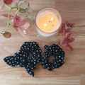 Handmade Scrunchies - Black and White