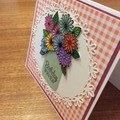 Birthday card. Get well card or Thank you card