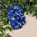 Puzzle Piece Scrunchie - Blue